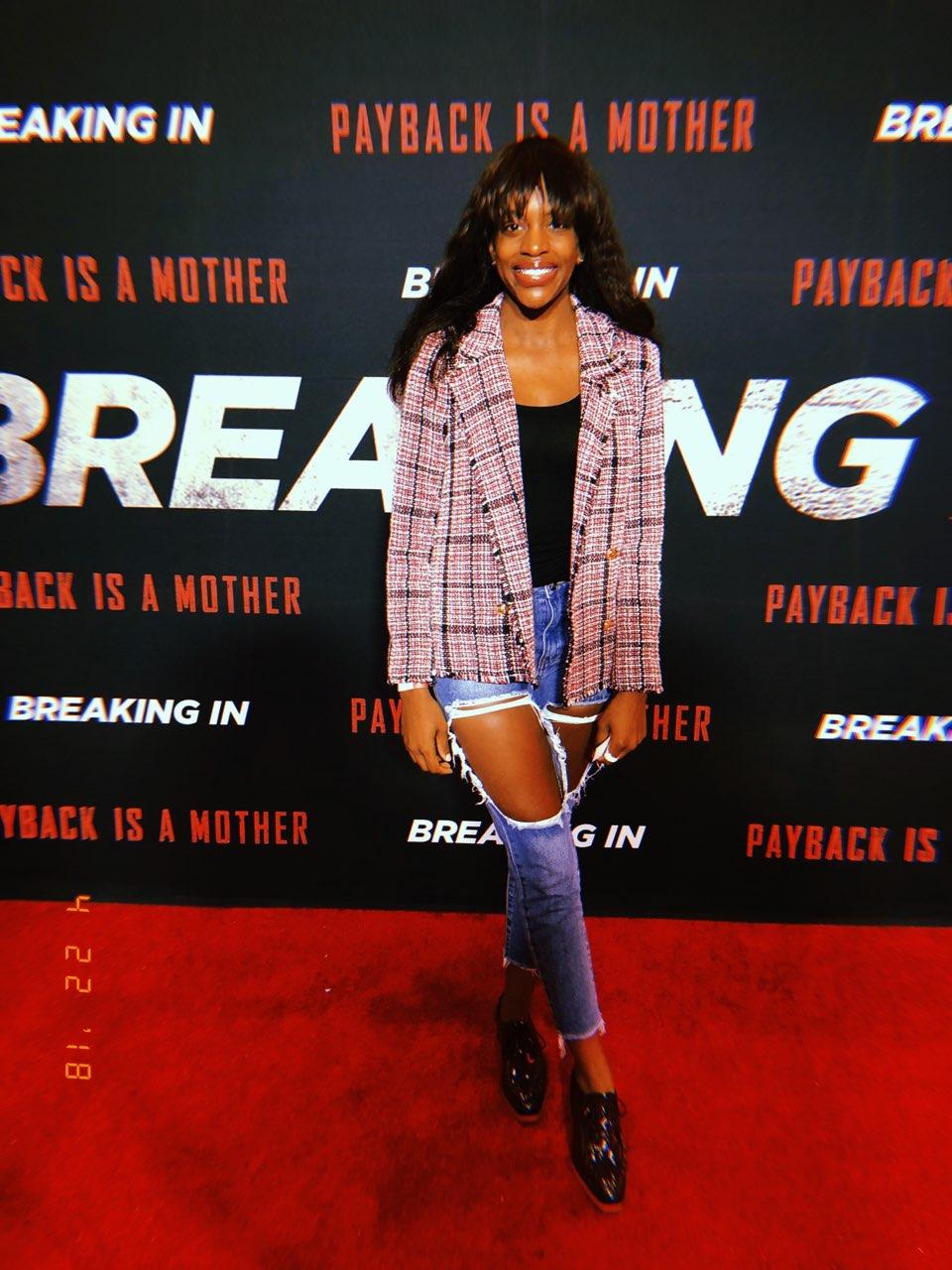 Breaking In Atlanta Premiere