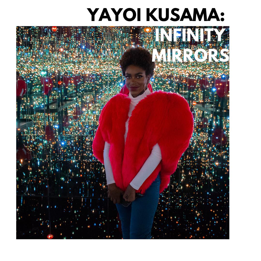 YAYOI KUSAMA_ INFINITY MIRRORS