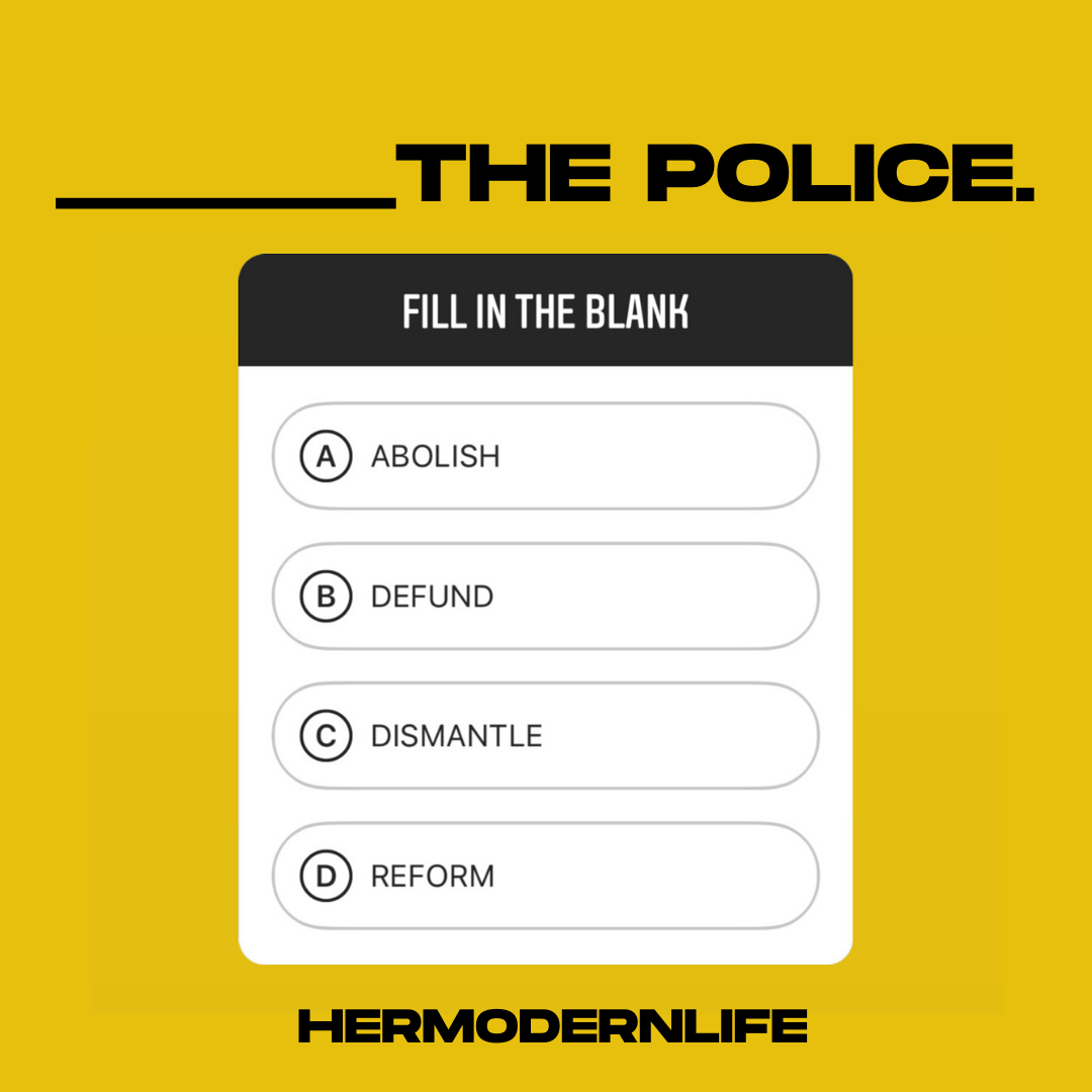 Police, What We Should Do About Them?