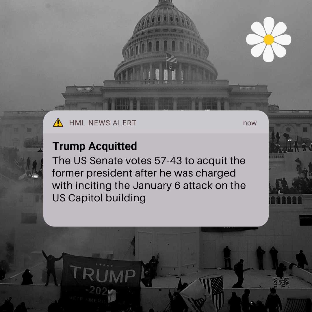 Trump Acquitted after 2nd Impeachment Trial